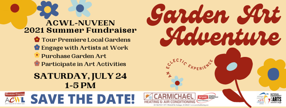 SAVE THE DATE Garden art adventure for N
