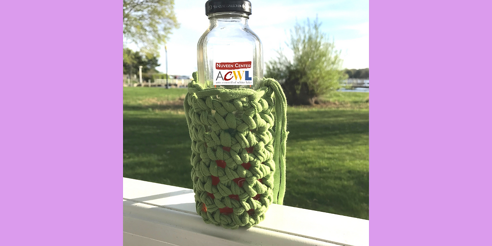 Summer Art Camp: Recycled Finger Crochet