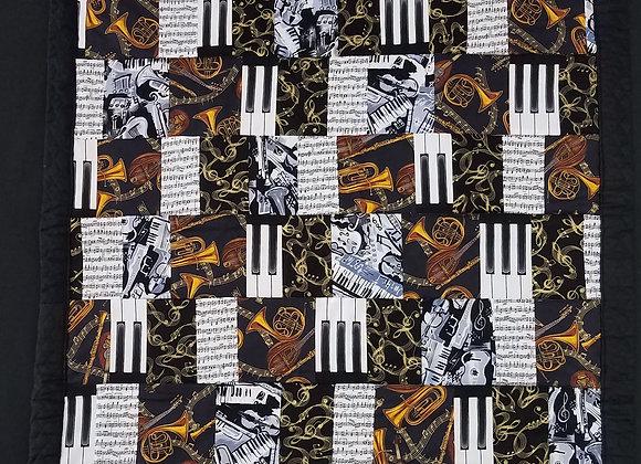 Jan Gorecki - Music Lap Quilt