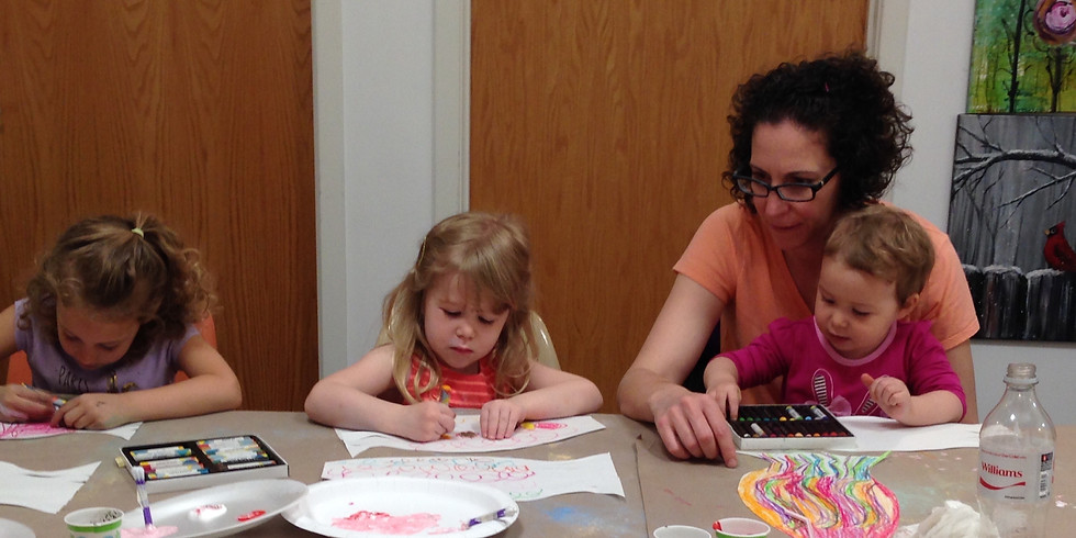 Wee Hearts Art Time