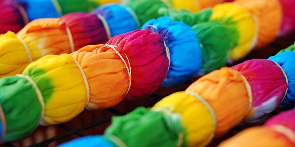 Summer Art Camp: June 24 Tie-Dye 101  (1)