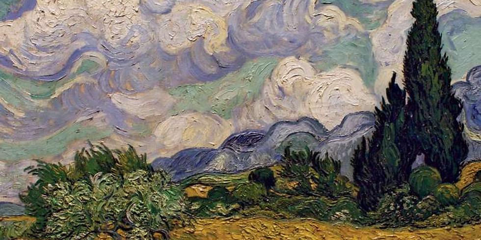 Van Gogh-Inspired Landscape