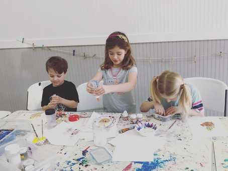2020 Spring Break Art Camps