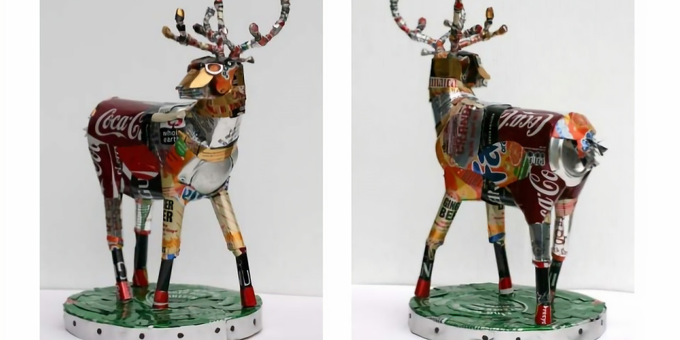 Exploring Michelle Reader: Recycled Sculptures