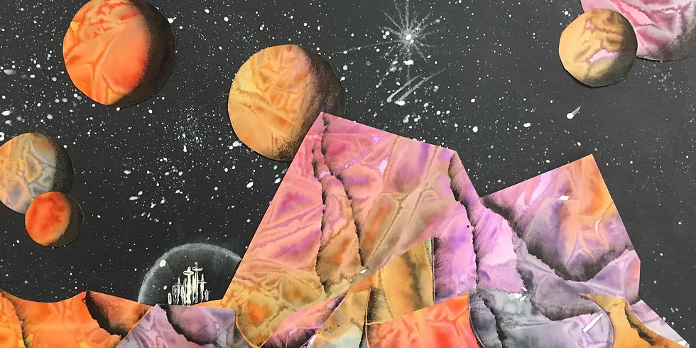 Summer Art Camp: Put the Space in Outer Space
