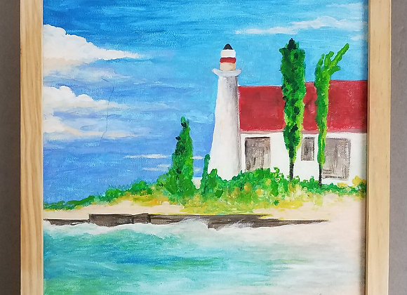 Jackie Liversedge - Lighthouse Painting