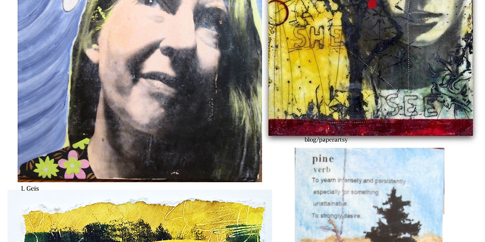 Spring Break Art Camp: Mixed Media Painting
