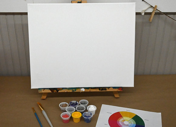 """16"""" x 20"""" Blank Canvas Kit"""