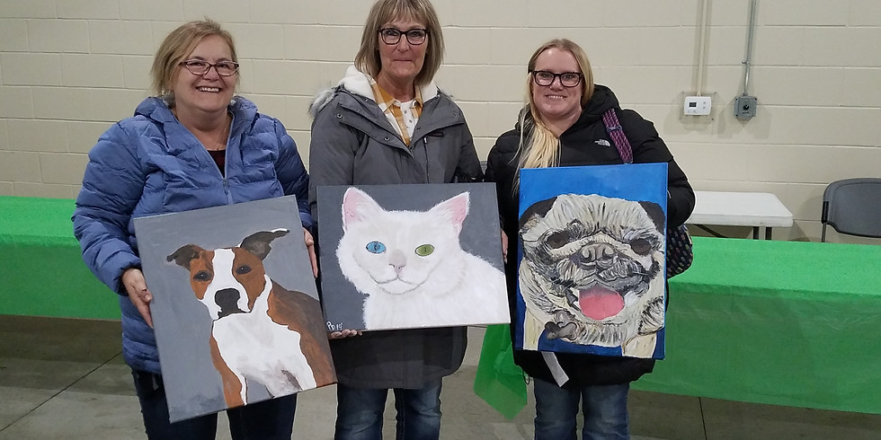 Paint your Pet with the Jaeger Foundation