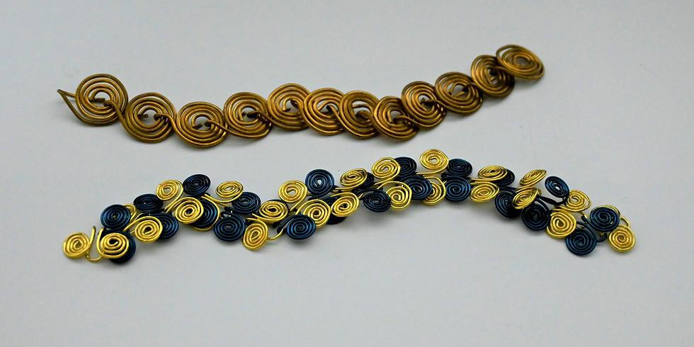 Unique Copper Wire Bracelets