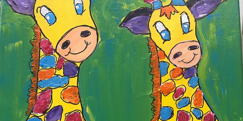 Paint a Giraffe Together