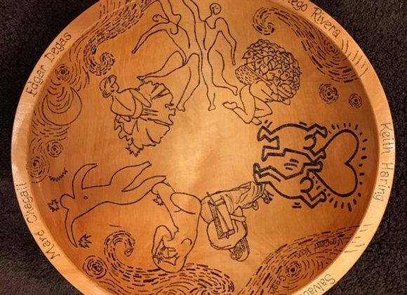 Mary Hendon - Wood Burned Bowl