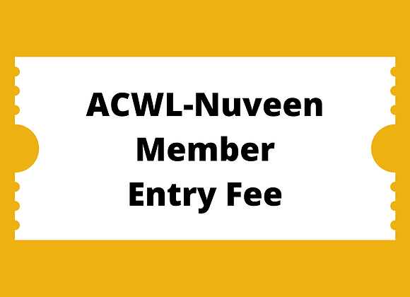 ACWL-Nuveen Member Entry Fee
