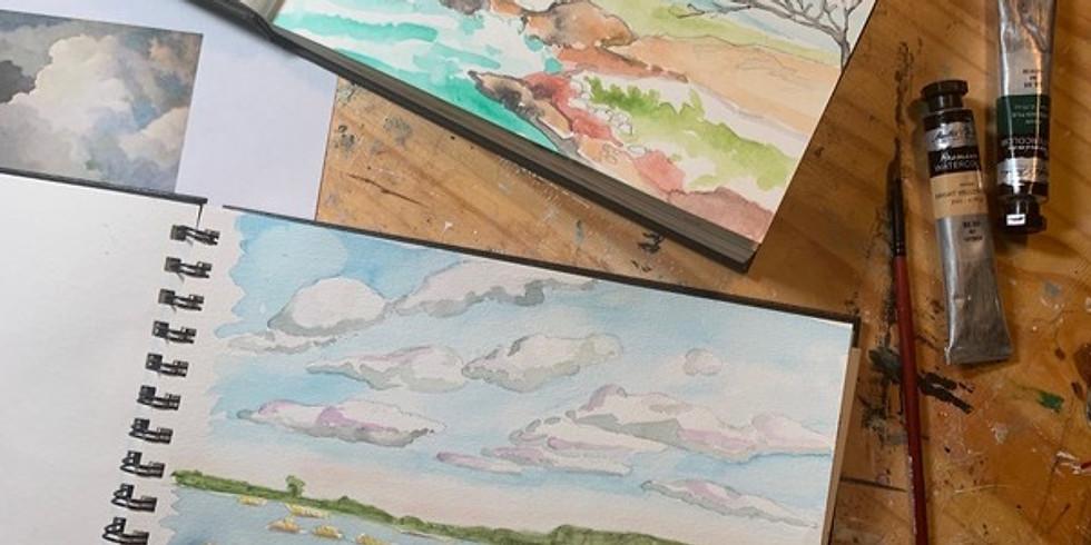 Summer Art Camp: Watercolor Journaling 101 (1)