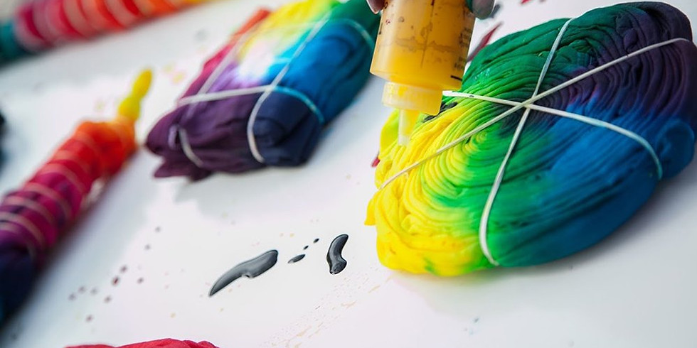 Summer Art Camp: June 23 Tie-Dye 101