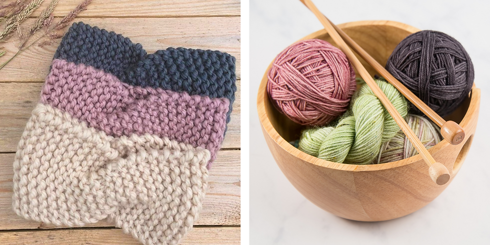 Knitting for Beginners: Twisted Headband