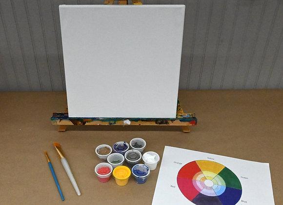 """12"""" x 12"""" Blank Canvas Kit"""