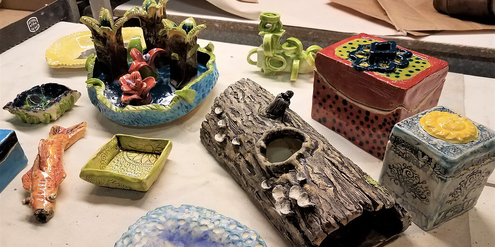 Ceramics Open Studio with Peter Johnson