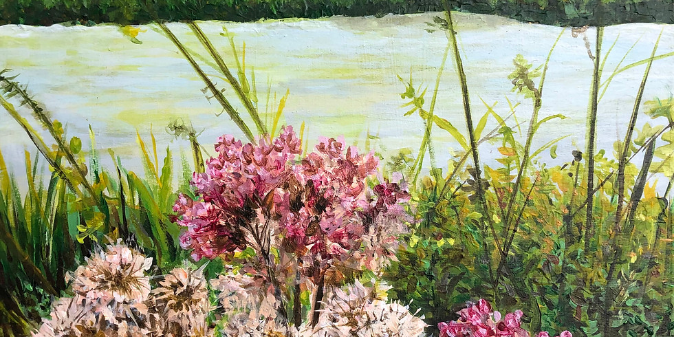 SOLD OUT: Summer Art Camp: Butterflies, Birds & More - Acrylic Painting for Beginners