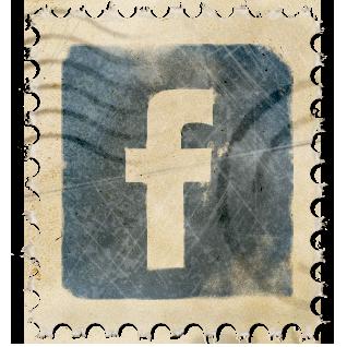 Facebook Vintage Stamp