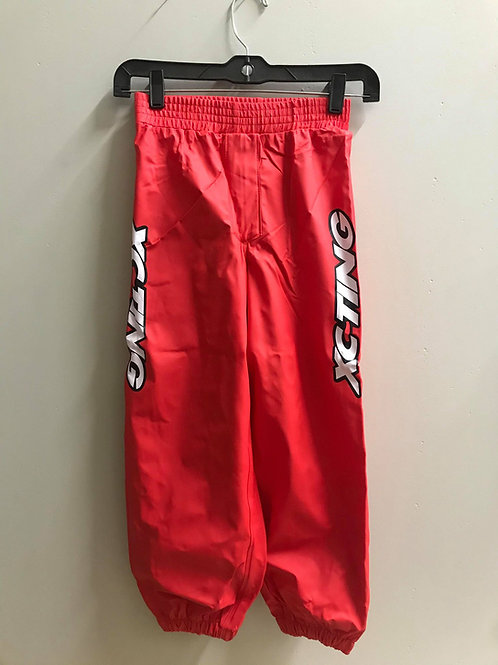 XC-TING WATERPROOF PANTS RED (YOUTH)