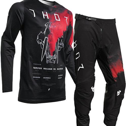 2020 Thor MX Prime Pro FORSTA - Red/Black