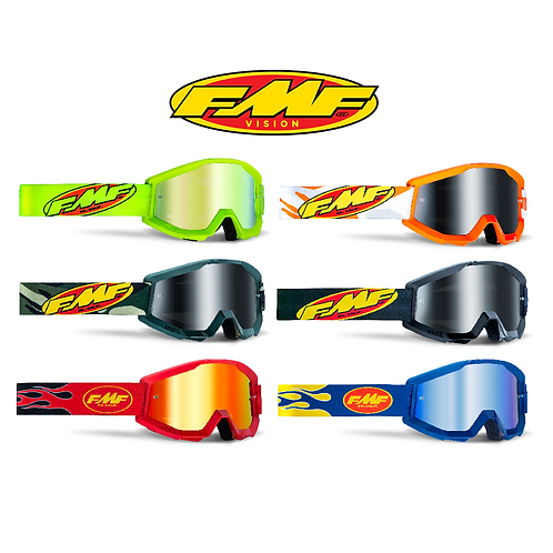 FMF POWERCORE ADULT GOGGLES - MIRROR LENS