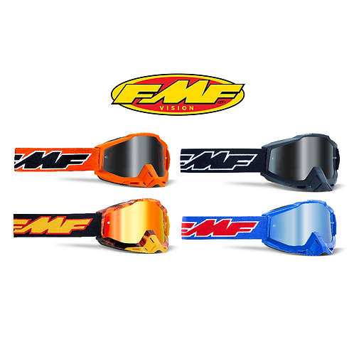 FMF POWERBOMB YOUTH GOGGLES - MIRROR LENS