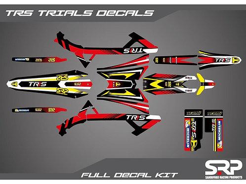 SRP TRS TRIALS DECAL / STICKER KIT 125-300CC 2016-2020