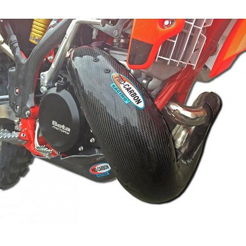 PRO CARBON EXHAUST GUARD BETA RR 250/300 13-20
