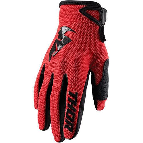 THOR SECTOR GLOVES - RED