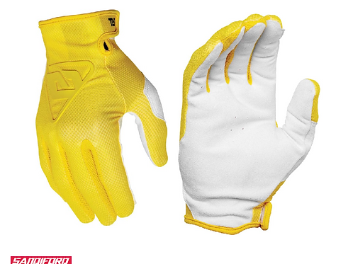 2021 ANSWER AR1 CHARGE GLOVES - YELLOW
