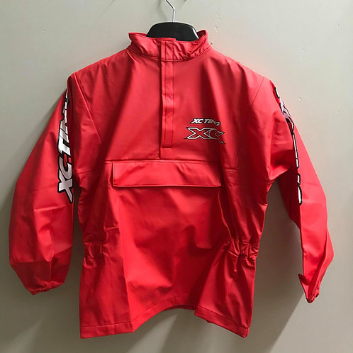 XC-TING WATERPROOF JACKET RED (YOUTH MEDIUM)