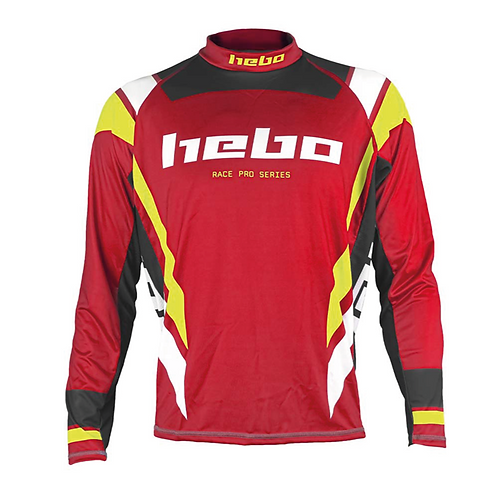 2021 HEBO PRO JERSEY - RED/YELLOW