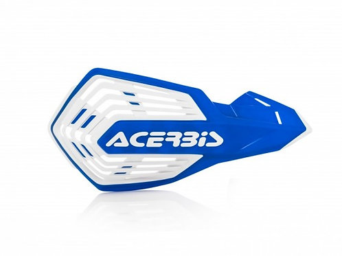 ACERBIS X-FUTURE HANDGUARDS BLUE/WHITE
