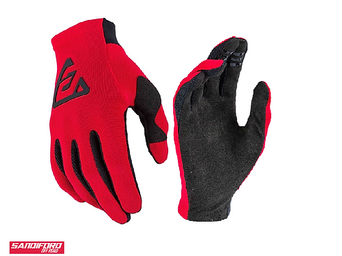 2021 ANSWER AR2 BOLD GLOVES - RED