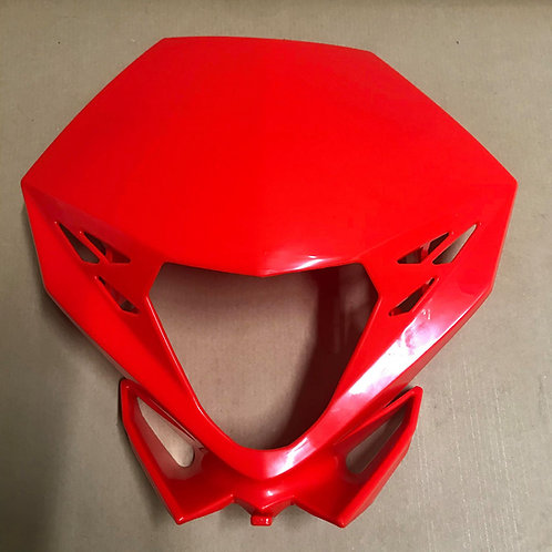GENUINE HEADLIGHT MASK PLASTIC RED - BETA RR 13-19