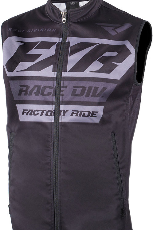 FXR OFF-ROAD VEST/GILLET BLACK/GREY - SALE