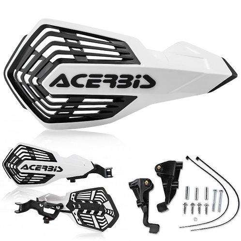 ACERBIS K FUTURE HANDGUARDS WHITE/BLACK