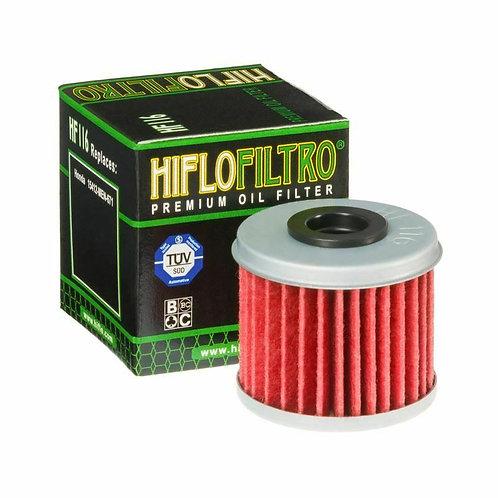 HF116 HI-FLO OIL FILTER (HONDA)