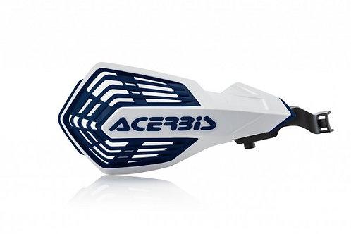 ACERBIS K FUTURE HANDGUARDS WHITE/DARK BLUE