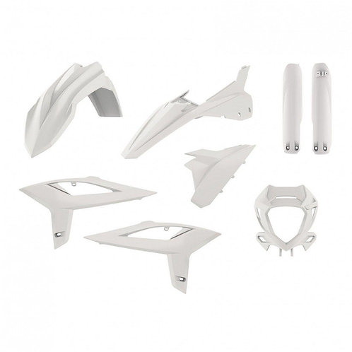 FULL PLASTIC KIT BETA RR 2T & 4T  WHITE 2020-2021