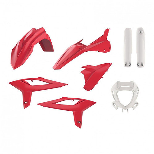 FULL PLASTIC KIT BETA RR 2T & 4T 2020-2021 OEM RED/WHITE