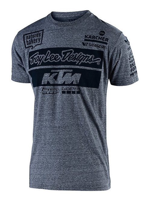 KTM TEAM T SHIRT (YOUTH) TLD - GREY