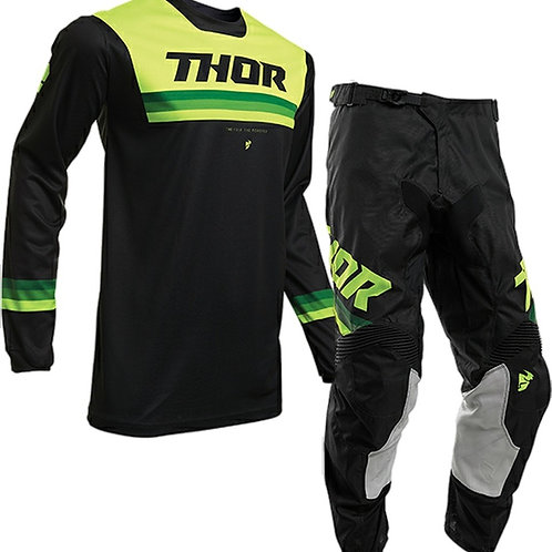 2020 Thor MX Pulse PINNER - Yellow/Black