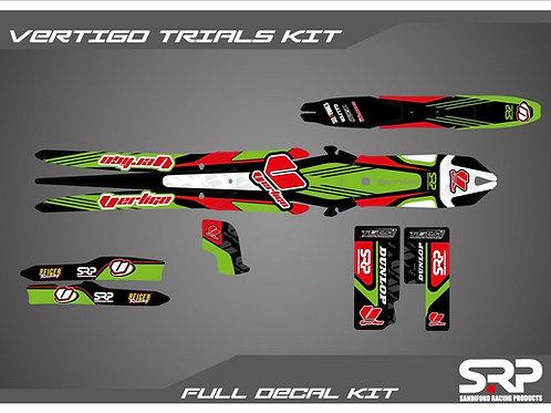 SRP VERTIGO TRIALS DECAL / STICKER KIT 125/250/300CC