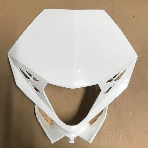 GENUINE HEADLIGHT MASK PLASTIC WHITE - BETA RR 13-19