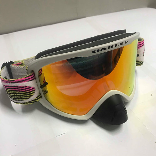 OAKLEY O-FRAME 2.0 GOGGLES - RUT CITY PINK/GREEN