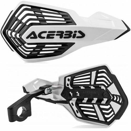 ACERBIS X-FUTURE HANDGUARDS WHITE/BLACK
