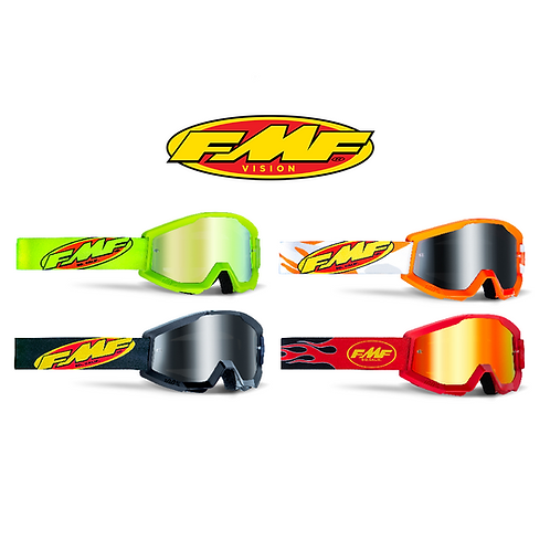 FMF POWERCORE YOUTH GOGGLES - MIRROR LENS